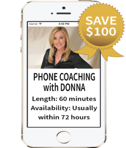 Call Donna 4 SESSIONS