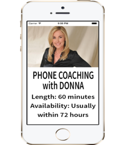 Call Donna PHONE SESSION