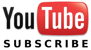 YouTube Subscribe. horizontal