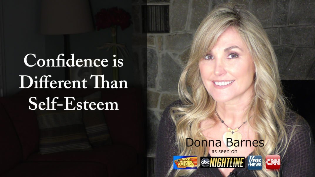 Confidence is Different Than Self-Esteem